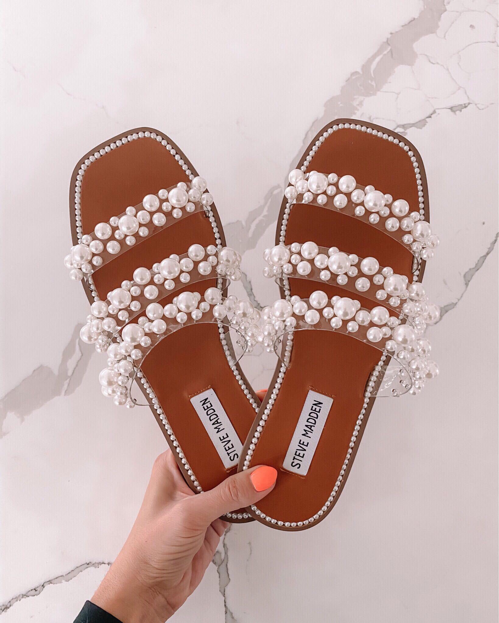 steve madden sandal, peal sandals