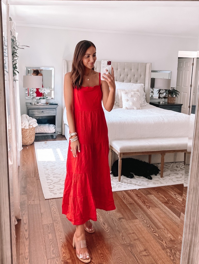 target style, target red dress