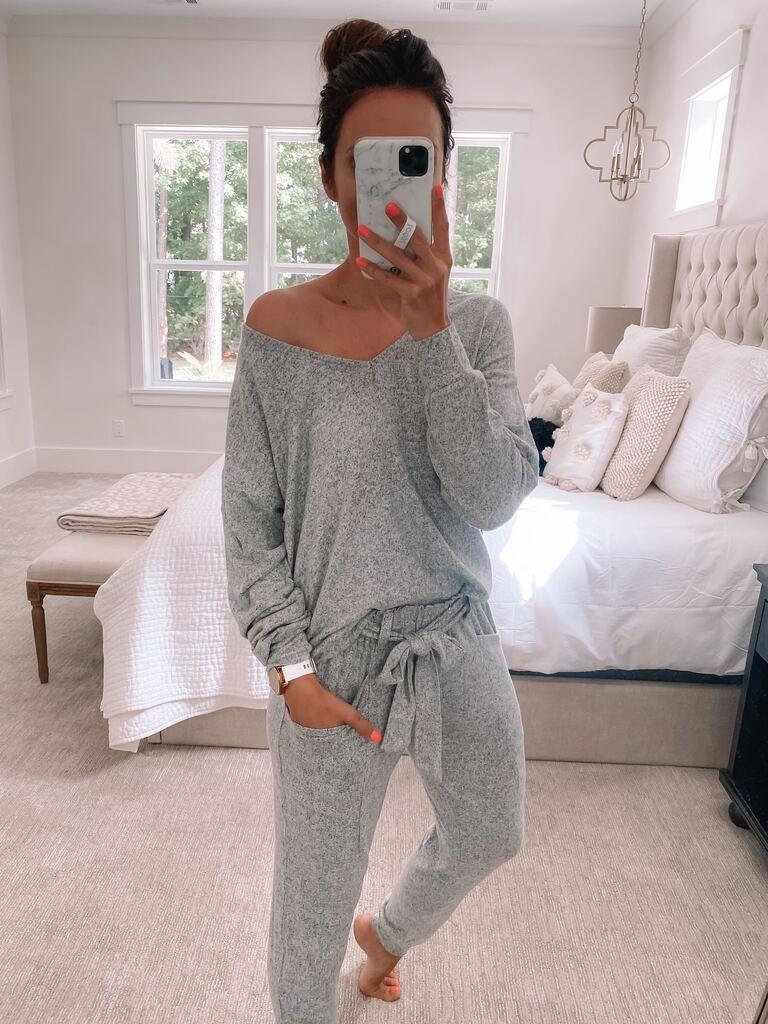 grey gibsonlook loungewear