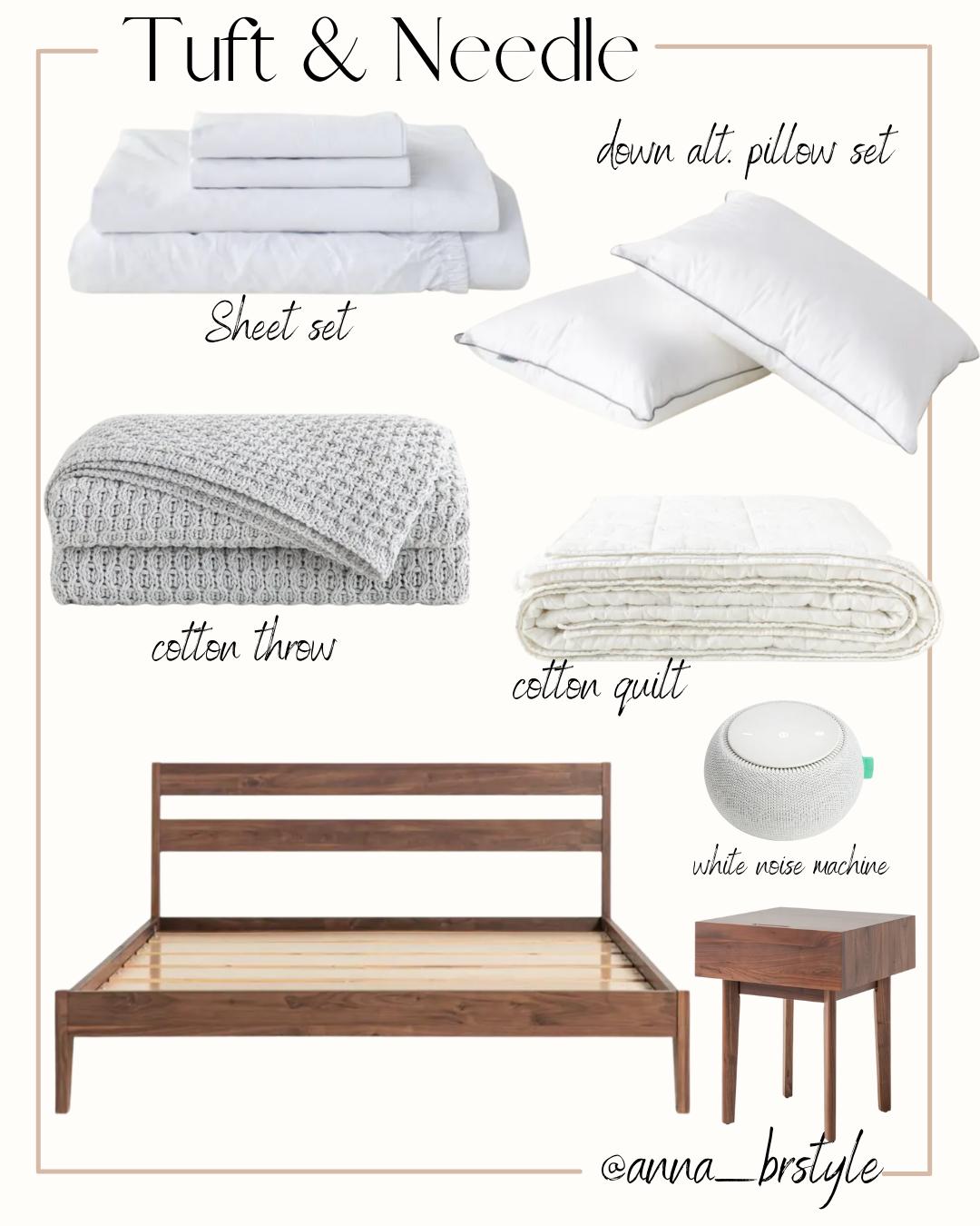 tuft and needle bedroom essentials