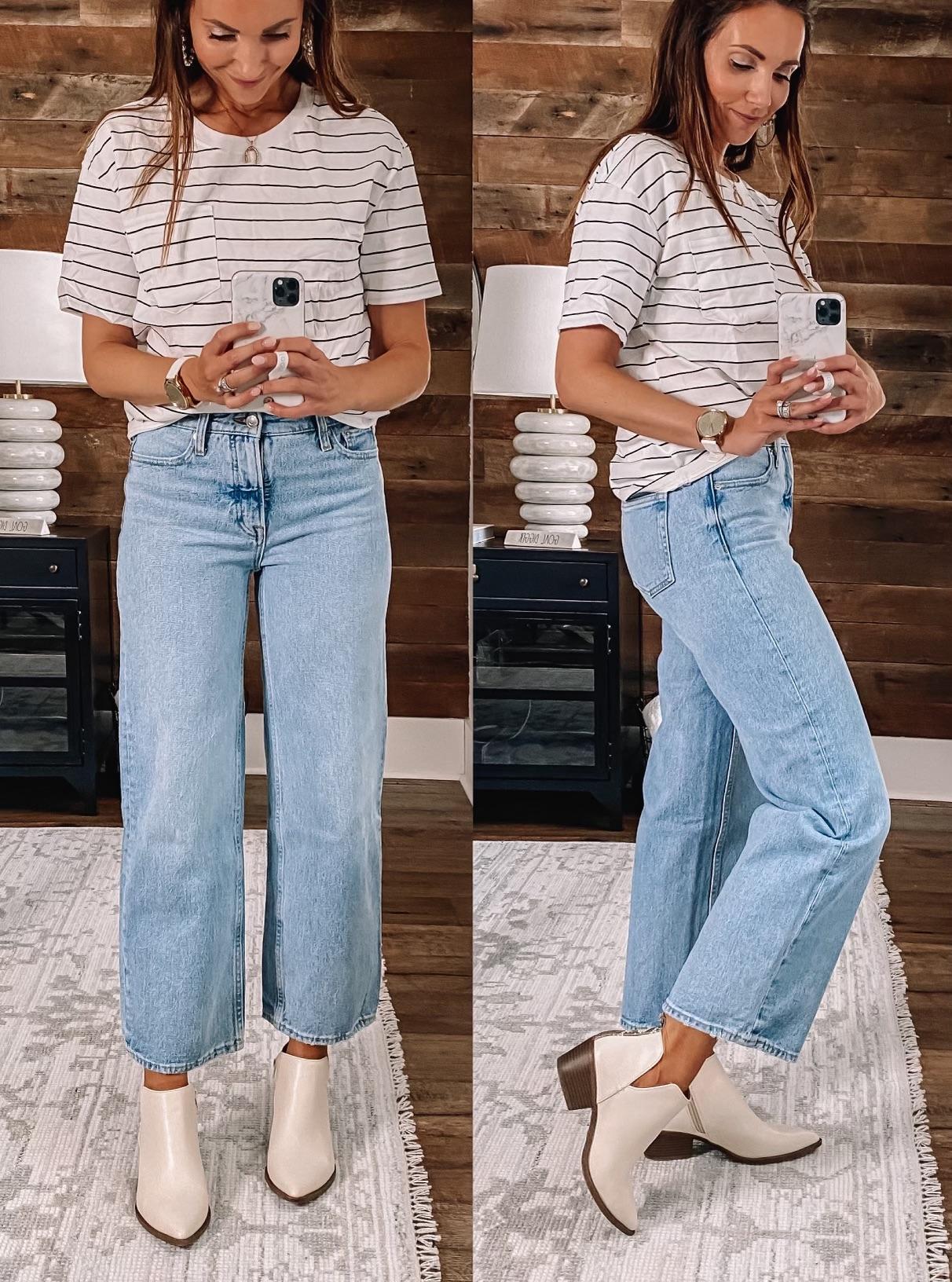 walmart jeans, walmart tee