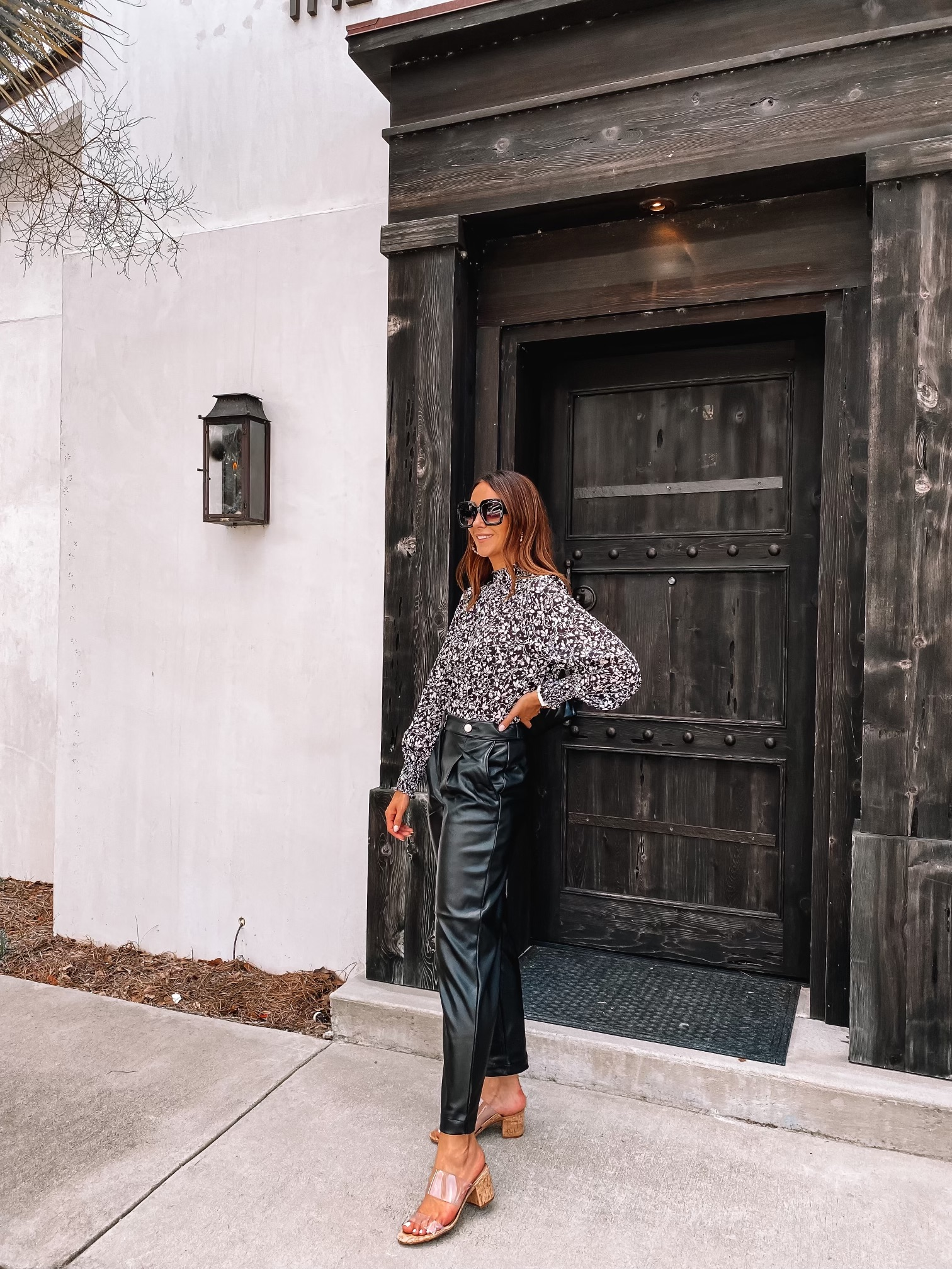 loft fall style, workwear style outfit