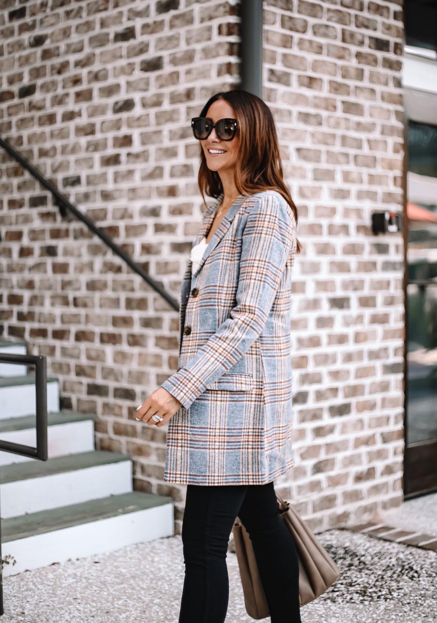nordstrom blazer, fall workwear style