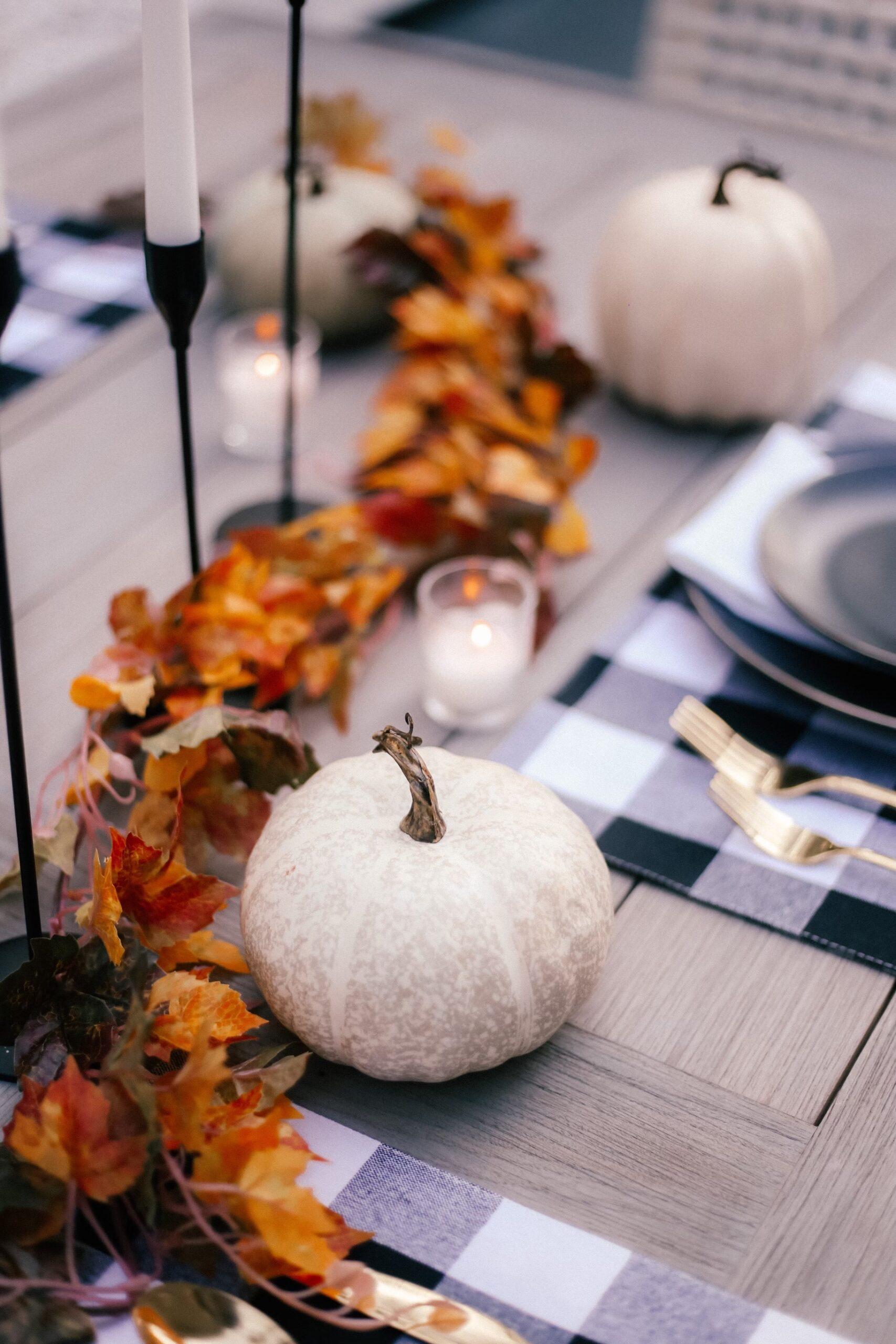 walmart home decor, fall tablescape