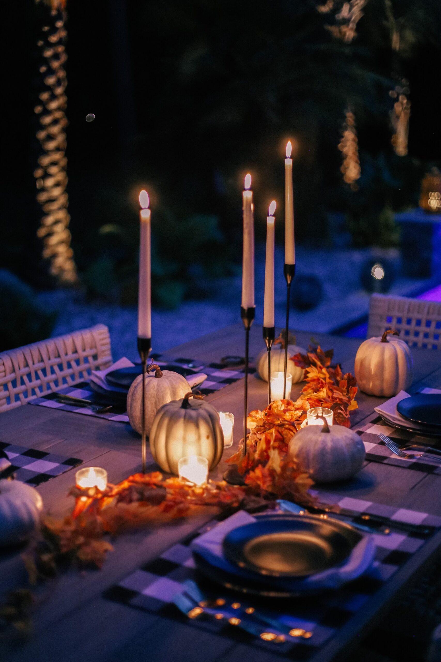 walmart fall home decor, walmart fall tablescape