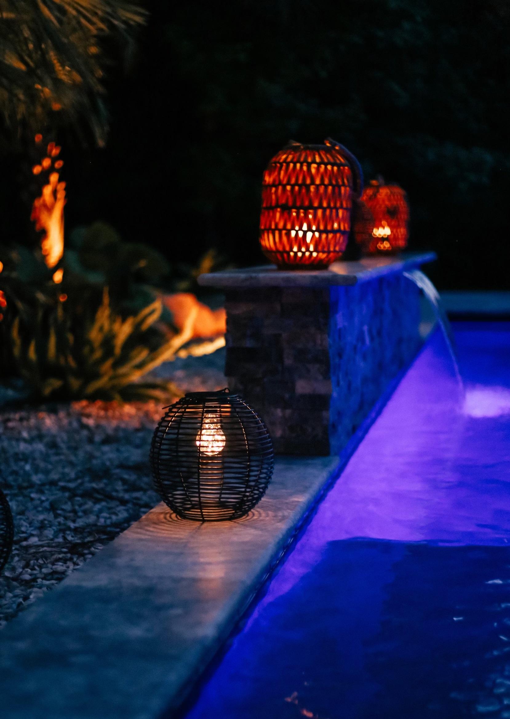 walmart fall home decor, walmart outdoor lanterns